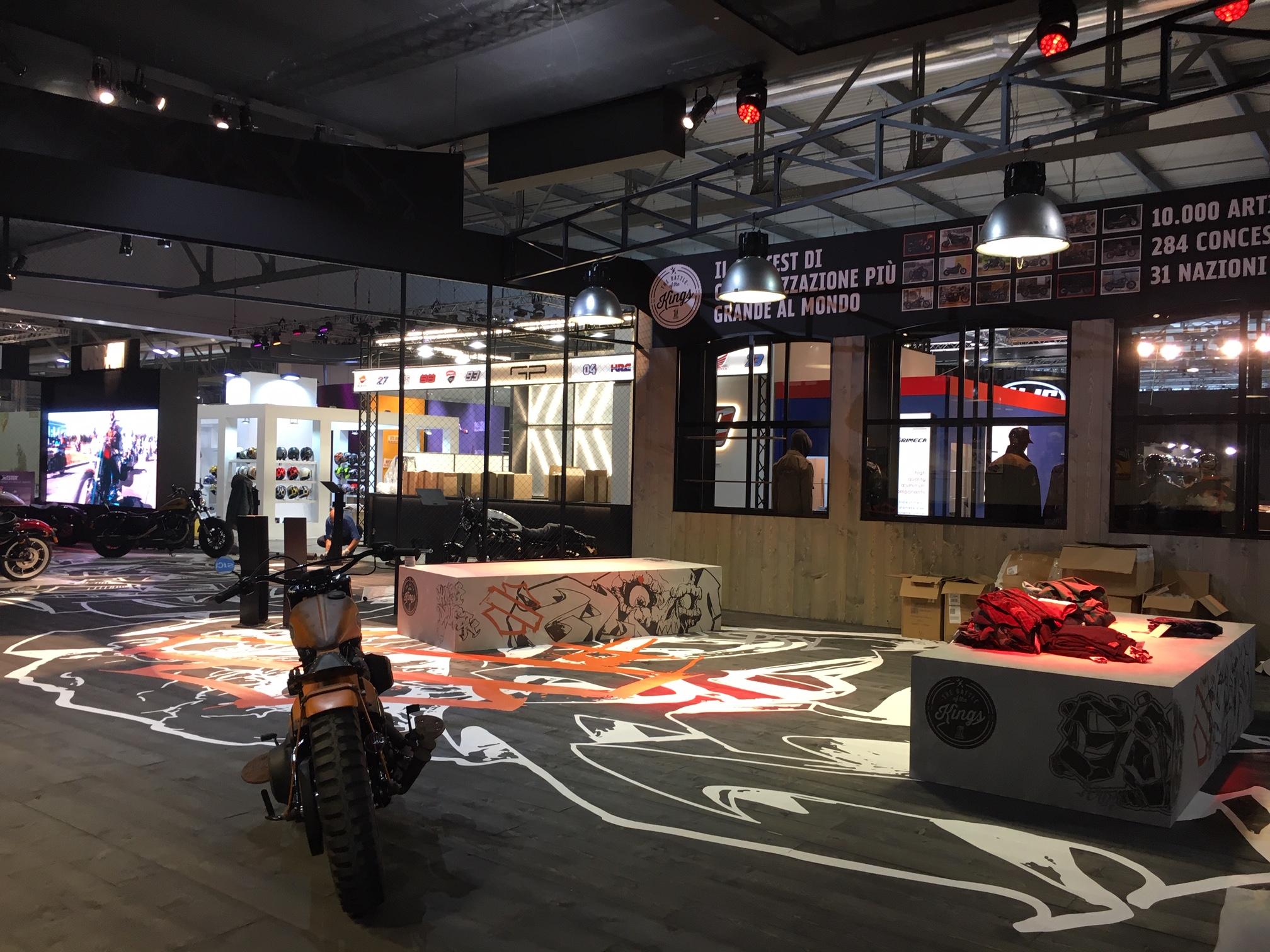 CIP x Harley-Davidson EICMA 2018